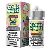 Cloud Nurdz 100ml Eliquid - Strawberry Lemon