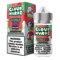 Cloud Nurdz 100ml Eliquid - Watermelon Apple