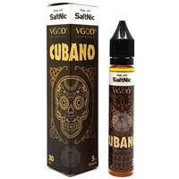 VGOD SaltNic 30ml Nicotine Salts Eliquid -  Cubano