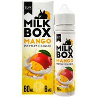 BLVK Milk Box 60ml Eliquid - Mango