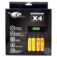IMREN Intellicharger X4 18650 4-Bay Battery Charger