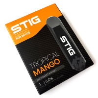 STIG Disposable Pod E-Cigarette Vape Device by VGOD - Tropical Mango