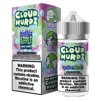 Cloud Nurdz 100ml Eliquid - Grape Apple Iced