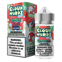 Cloud Nurdz 100ml Eliquid - Watermelon Apple Iced