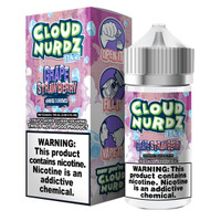 Cloud Nurdz 100ml Eliquid - Strawberry Grape Iced