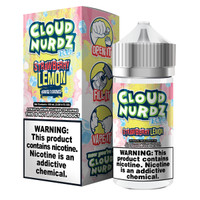 Cloud Nurdz 100ml Eliquid - Strawberry Lemon Iced