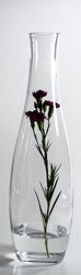 Time Tree Turkish Glass Bottle Vase HARMONY H55cm D16cm