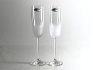 FLAMES flute champagne glass