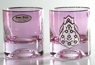 Time Tree Turkish Glass Tumbler STILL Platinium H8cm V200 (Set Of 2)