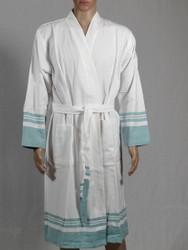 lykia bathrobe blue