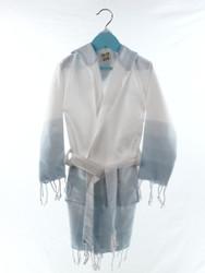 TANGO kids beachrobe bathrobe blue