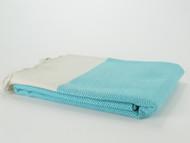 Diamond Turkish Towel Turquoise
