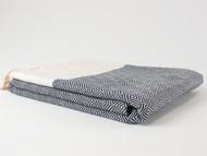 Diamond Turkish Towel Black