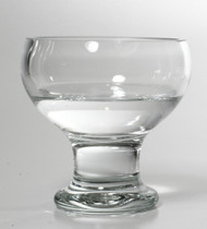 Time Tree Turkish Glass Footed Bowl H14cm D13cm
