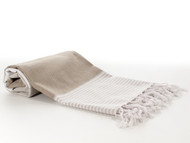 Deniz Turkish Towel Brown