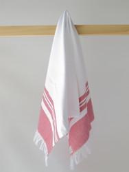 LYKIA Hand Towel, Red