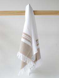 LYKIA Turkish Hand Towel, Brown