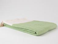 Diamond Turkish Towel, Peshtemal, Green