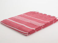 Classic Turkish Towel Peshtemal Red