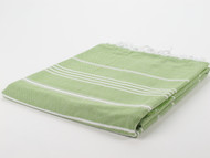 Classic Turkish Towel Peshtemal Green