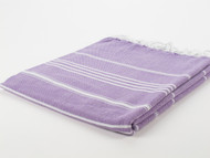 Classic Turkish Towel Peshtemal Purple