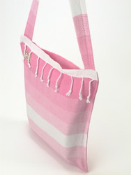 TANGO Turkish Towel Bag Pink