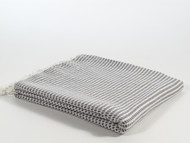 Mulberry Turkish Towel Peshtemal Gray