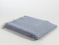 Mulberry Turkish Towel Peshtemal Royal Blue