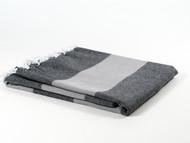 Dusk Turkish Towel Peshtemal Gray
