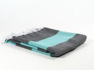 Dusk Turkish Towel Peshtemal Turquoise