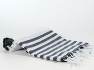 Lily Turkish Towel Peshtemal, Navy