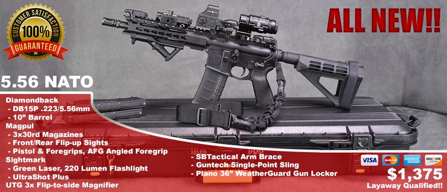 Diamondback DB15P AR-15 Pistol SuperKit