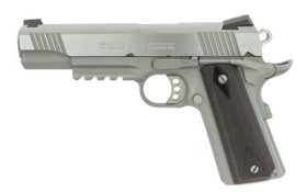 Colt Stainless Rail Gun .45 ACP Left Side