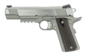 Colt Stainless Rail Gun .45 ACP Left Side