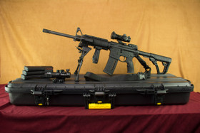Colt Expanse Daniel Defense AR-15 .223/5.56mm SuperKit! Left Side with magpul magazines and Vector Optics Scope