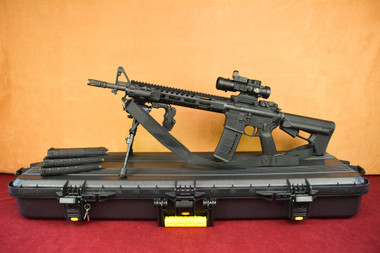 DPMS TAC2 5.56/.223 SuperKit! Left Side on plano case with magpul magazines