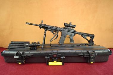 Savage MSR 15 with Blackhawk Handguard SuperKit! Left Side on Plano Case