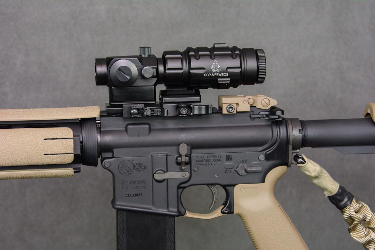 Desert Cameo Colt Expanse AR-15 .223/5.56mm SuperKit! Micro Red Dot Sight