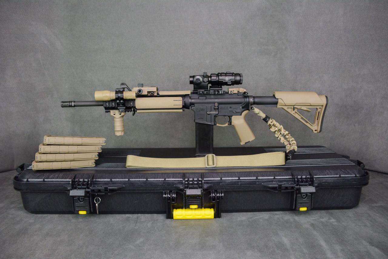 Desert Cameo Colt Expanse AR-15 .223/5.56mm SuperKit! Surefire Flashlight