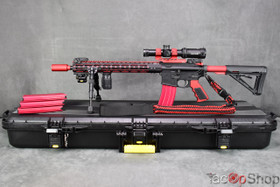 Aero Precision AR-15 SuperKit in Red!