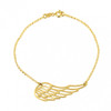Angel's Wing Bracelet - Gold