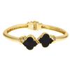 Enamel Signature Bracelet - Black
