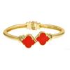 Enamel Signature Bracelet - Orange