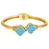 Enamel Signature Bracelet - Turquoise