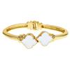Enamel Signature Bracelet - White