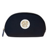 Trucco Monogrammed Nylon Make Up Bag - Black