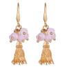 Zoe Earrings Pink