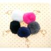 Vail Faux Fur Pom Pom Keychains