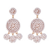 Nelly Beaded Earrings - Taupe