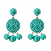 Nelly Beaded Earrings - Turquoise